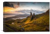 The Storr Sunrise, Canvas Print