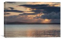 Islay: Loch Indaal Sunrise, Canvas Print
