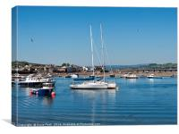 Teignmouth Harbour, Canvas Print