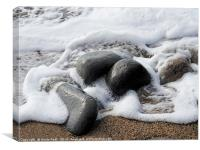 Stone-Washed, Canvas Print
