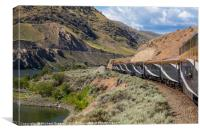 The Rocky Mountaineer, Canvas Print