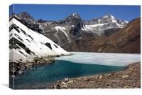 Gokyo lake, Nepal., Canvas Print