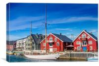 Colors of Norway, Canvas Print