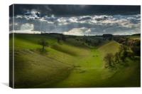 Thixendale, Yorkshire Wolds, Canvas Print