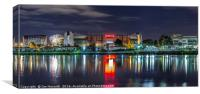 Old Trafford, Manchester United, Long Exposure, Canvas Print