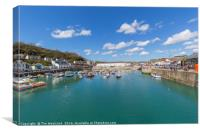 Porthleven Habour, Cornwall, England, Canvas Print