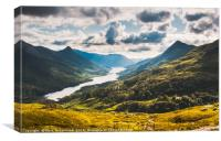 Loch Leven and The Pap of Glencoe, Canvas Print