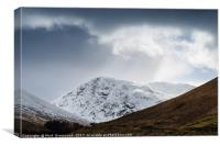 Meall Lighiche, Canvas Print