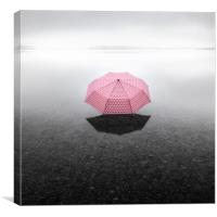 Pinky Umbrella, Canvas Print