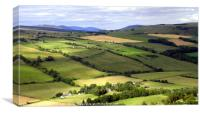 View from Knockfarrel Iron Age hillfort, Canvas Print