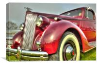 Packard Type 138 Vintage Car, Canvas Print
