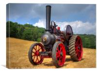 Fowler Traction Engine, Canvas Print