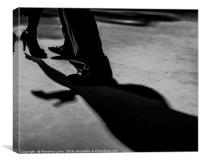 Tango dancer, Canvas Print