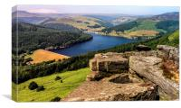 Ladybower , Canvas Print