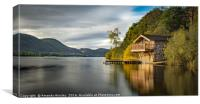 The Duke of Portland Boat House, Canvas Print
