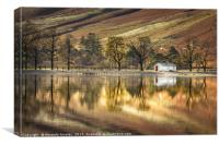 Buttermere Boathouse, Canvas Print