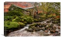 The Old Watermill, Canvas Print
