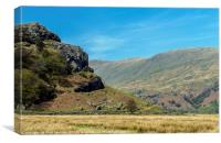 The Upper Kentmere Valley Lake District, Canvas Print