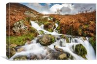 Cinderdale Beck Falls in the Lake District, Canvas Print