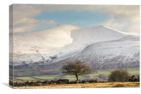 Pen Y Fan, Brecon Beacons National Park , Canvas Print