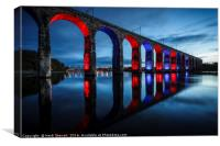 Royal Border Bridge, Berwick-Upon-Tweed, Canvas Print