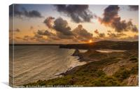 Three Cliffs, Gower, Canvas Print