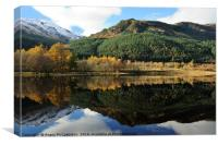 Loch Lubnaig and Ben Ledi, Canvas Print