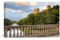 Durham Cathedral from Prebends Bridge, Canvas Print