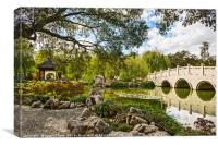 Beautiful Chinese Garden at the Huntington Library, Canvas Print