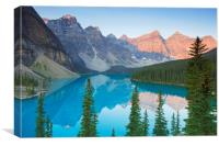 Moraine Lake, Banff National Park, Canada, Canvas Print