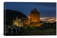 Eilean Donan Castle, Scottish Highlands, Canvas Print