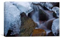 Rock and Ice, Canvas Print