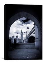 Defence of Westminster, Canvas Print