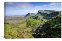 The Quiraing, Canvas Print