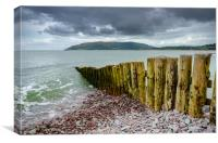 Porlock Weir, Canvas Print