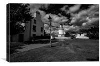 Cromarty Lighthouse, Canvas Print