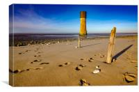 Spurn Head, Canvas Print