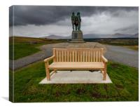 Scottish Commando Monument, Canvas Print