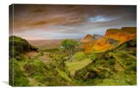 Good Morning Quiraing, Canvas Print