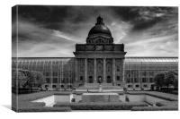 Bavarian State Chancellery, Berlin, Canvas Print