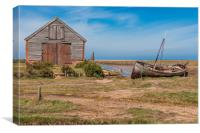 The Old Boat Shed, Canvas Print