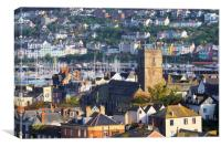 Dartmouth and Kingswear, Canvas Print