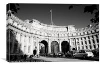 Admiralty Arch, Canvas Print