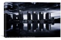 RIVERLIGHT, Canvas Print