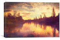 The Serpentine, Canvas Print