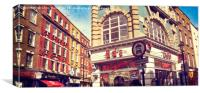 SOHO retro, Canvas Print