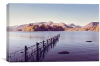 Derwent Isle and Catbells, Canvas Print