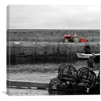 The Tractor, Canvas Print