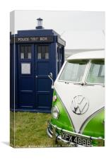 Time Lord Transport, Canvas Print