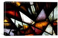 Stained Glass #1, Canvas Print